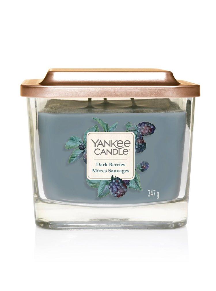 Yankee Candle vonná svíčka Elevation Dark Berries hranatá střední 3 knoty