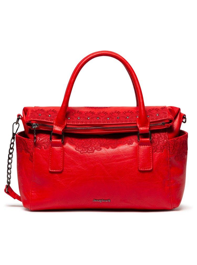 Desigual červená kabelka Bols Melody Loverty