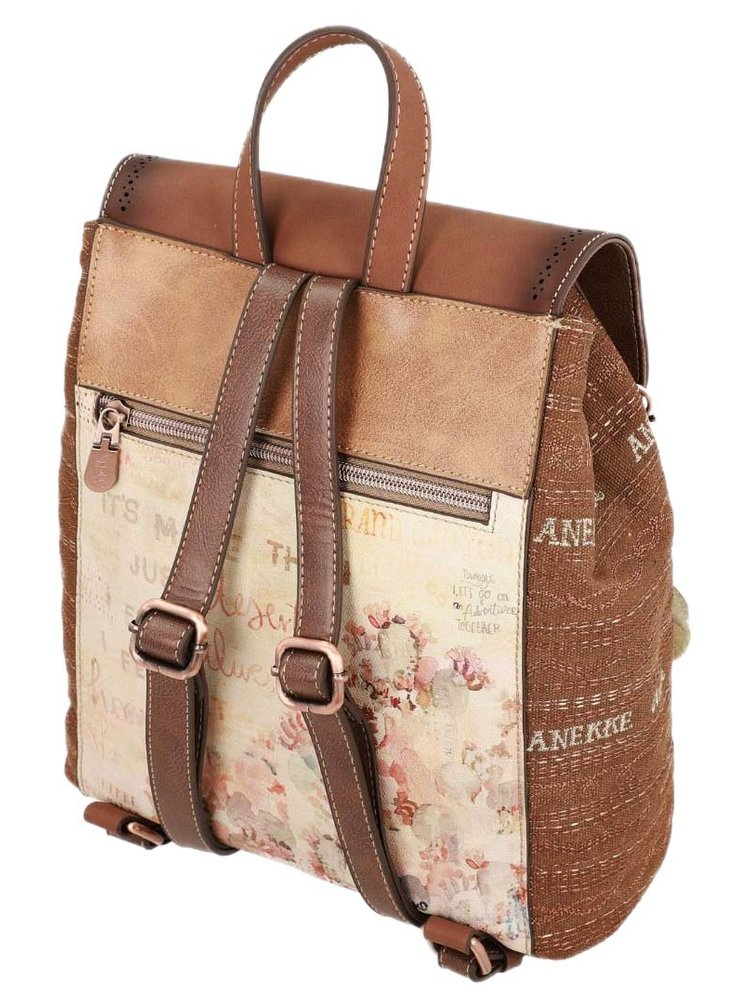 Anekke elegantní batoh Arizona s klopou