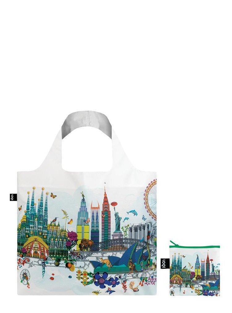 Loqi skládací eko taška Kristjana S Williams Interiors World Skyline