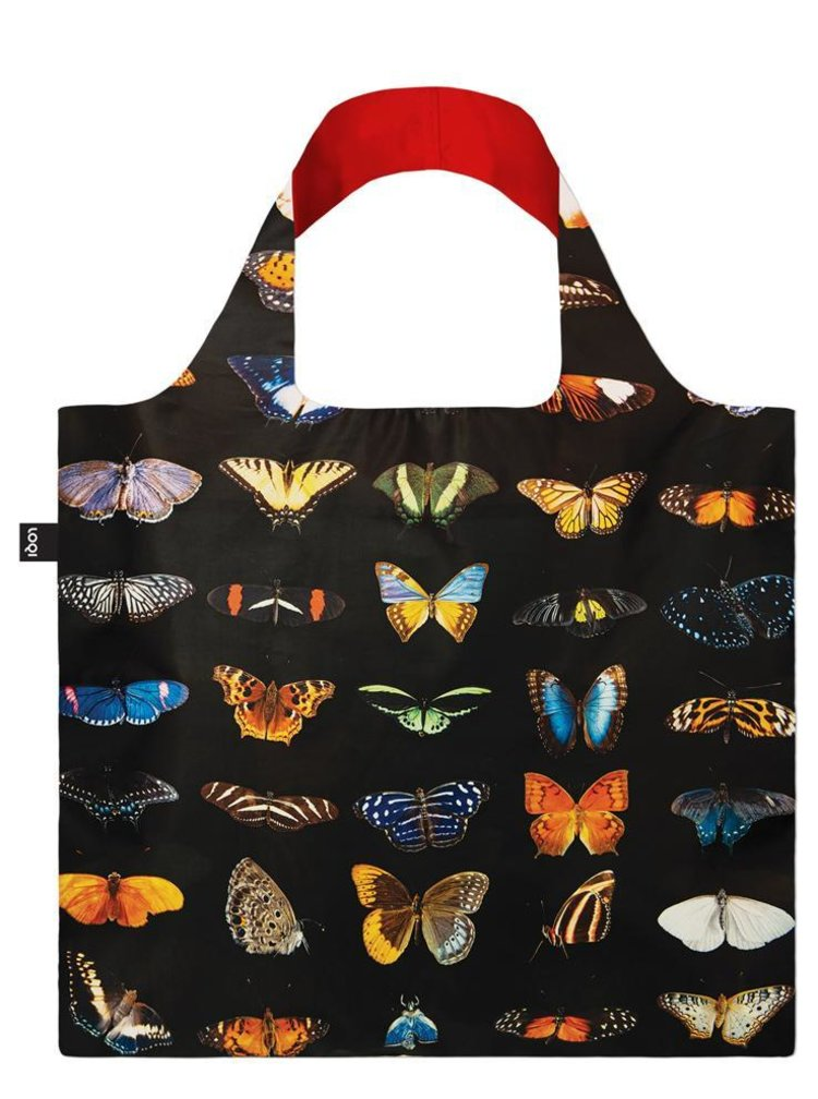 Loqi skládací eko taška National Geographic Butterflies and Moths