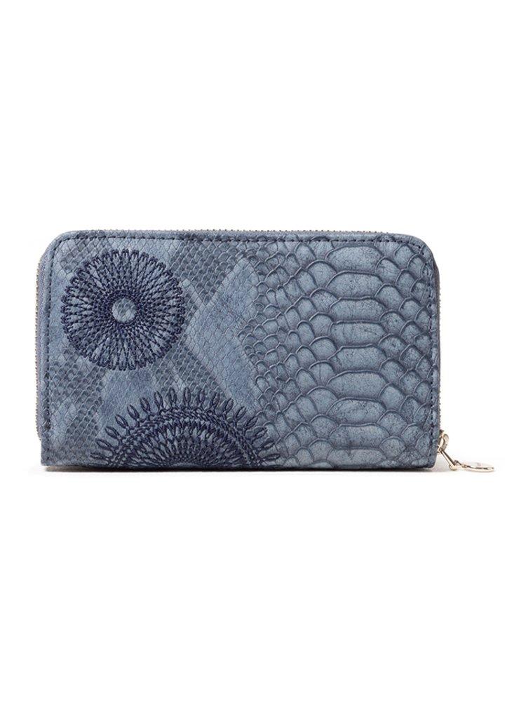 Desigual modrá peněženka Mone Criseida Mini Zip