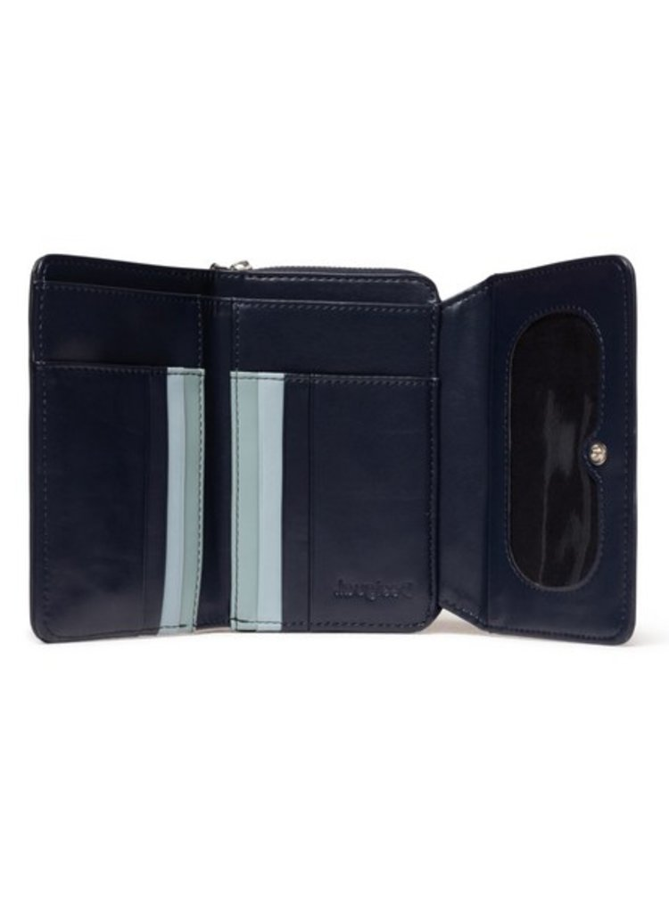 Desigual modré peněženka Mone Ayax Maria Mini