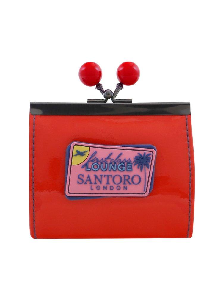 Santoro malá peněženka First Class Lounge Lady Red