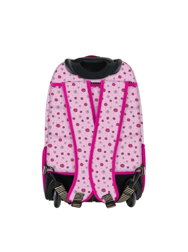 Santoro růžový batoh na kolečkách You Can Have Mine