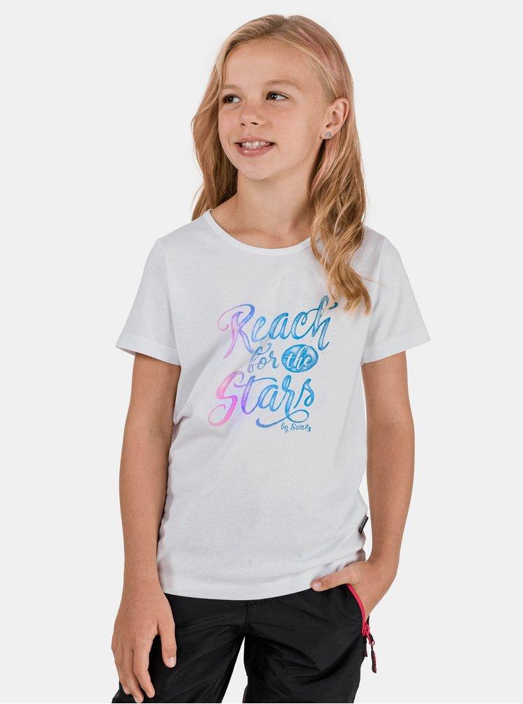 Bílé holčičí tričko SAM 73