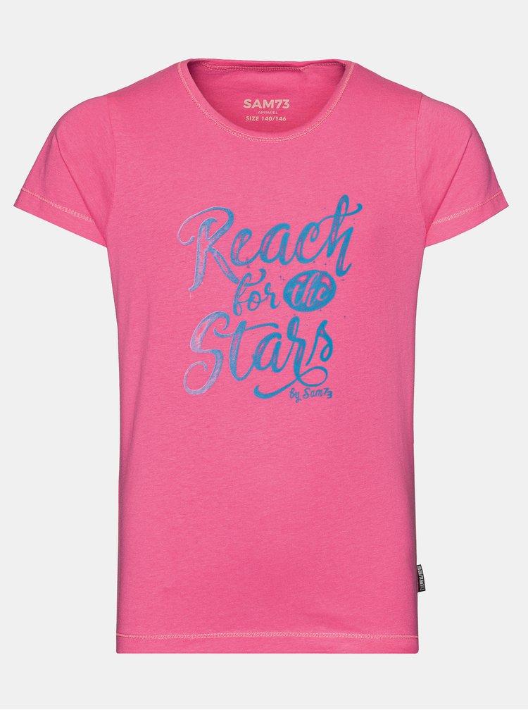 Růžové holčičí tričko SAM 73