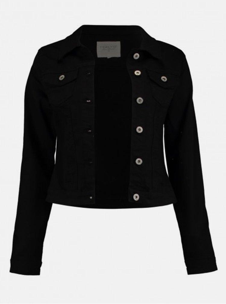 Černá dámská džínová bunda Haily´s