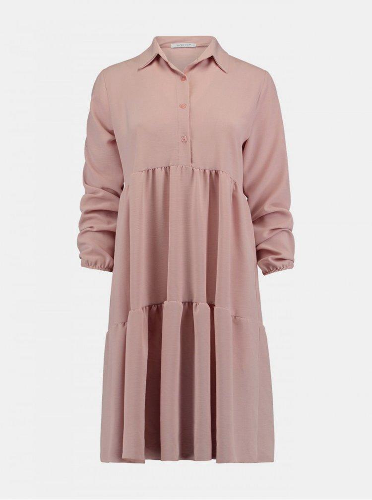 Rochii casual pentru femei Hailys - roz