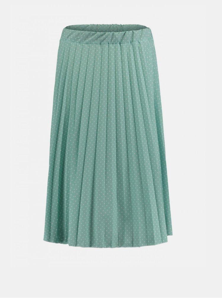 Modrá plisovaná sukňa Haily´s