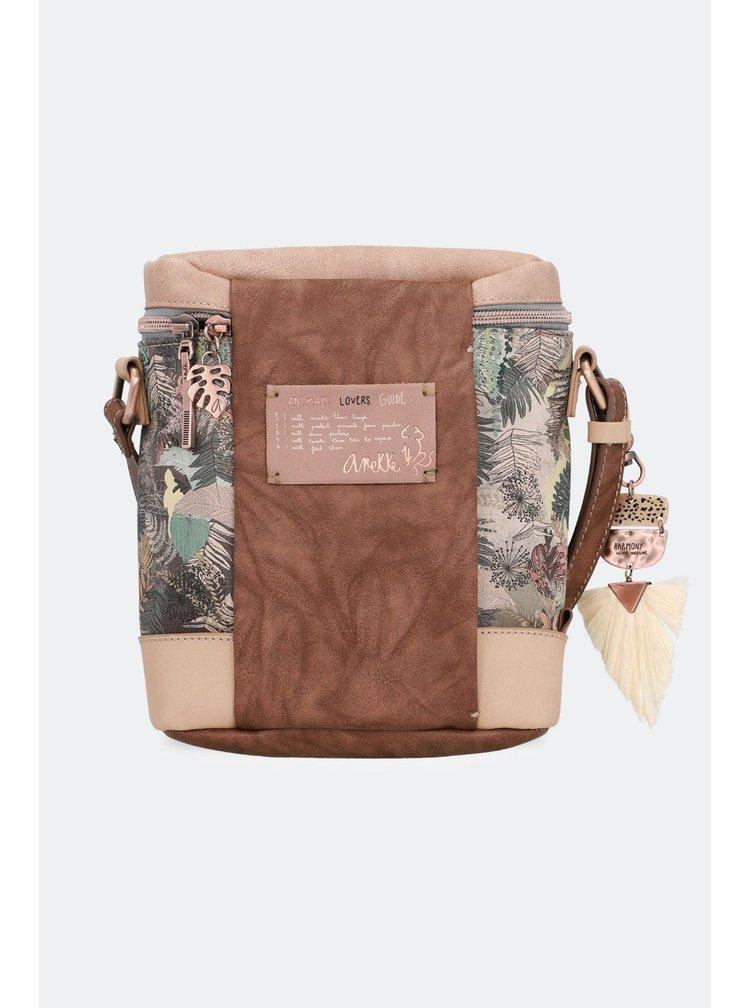 Anekke oválna kabelka na rameno Jungle