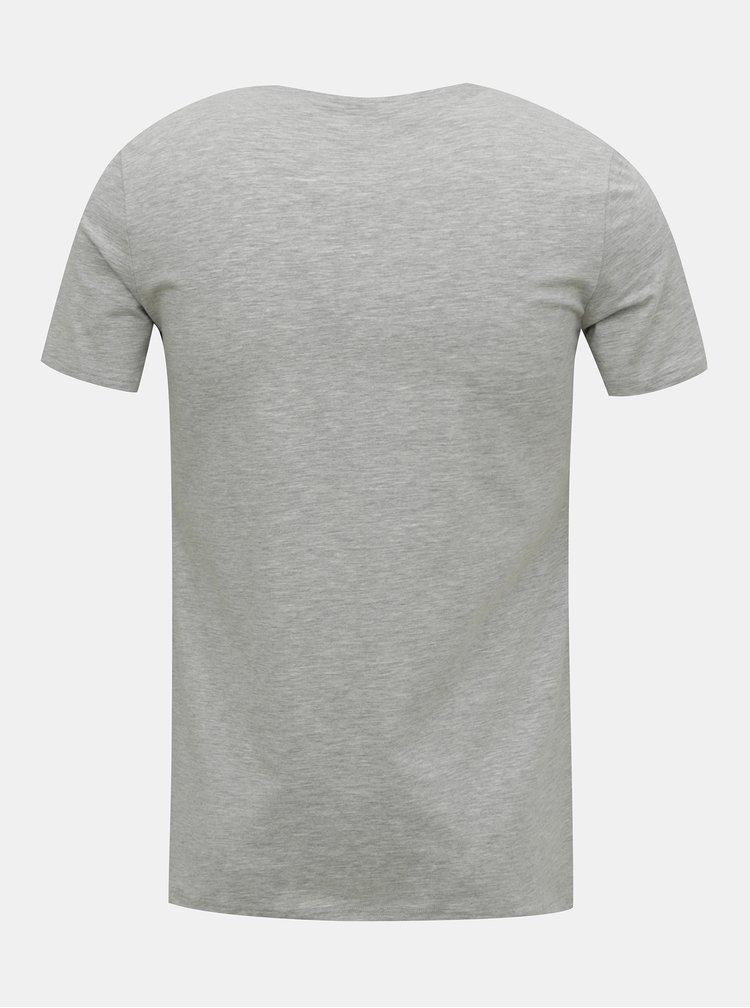 Tricouri basic pentru barbati FILA - gri