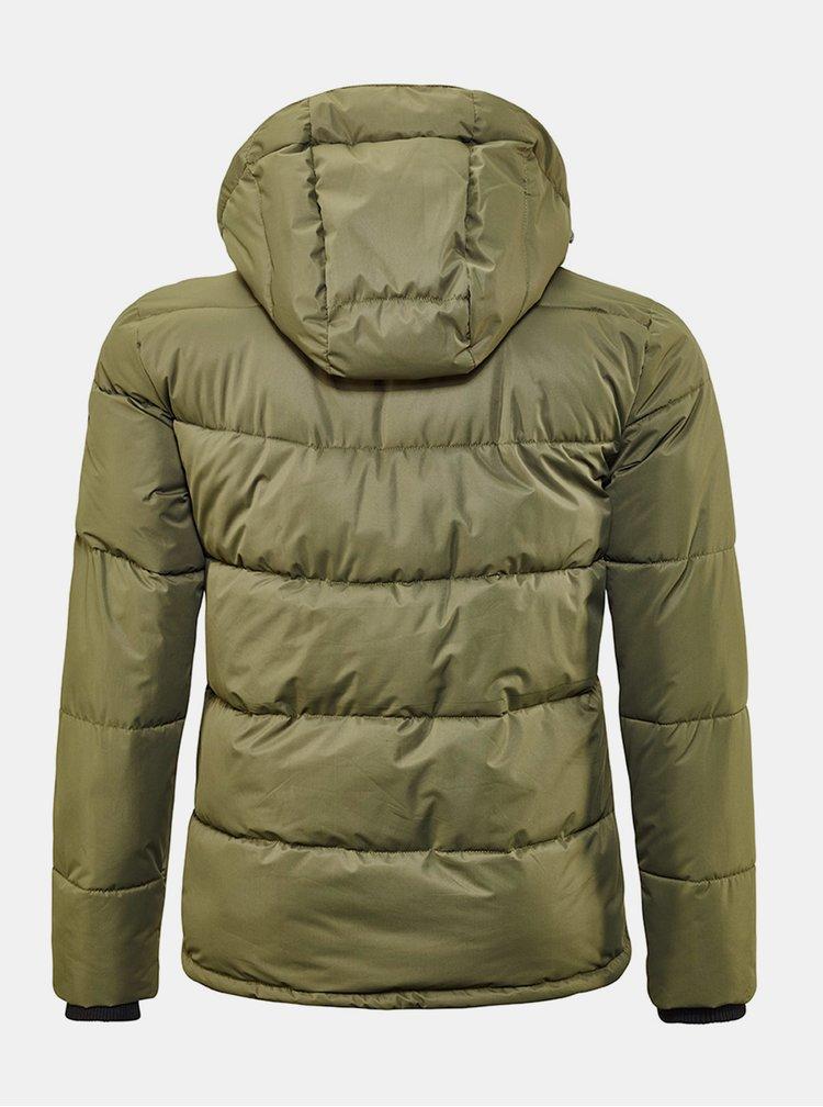 Khaki pánská zimní prošívaná bunda killtec