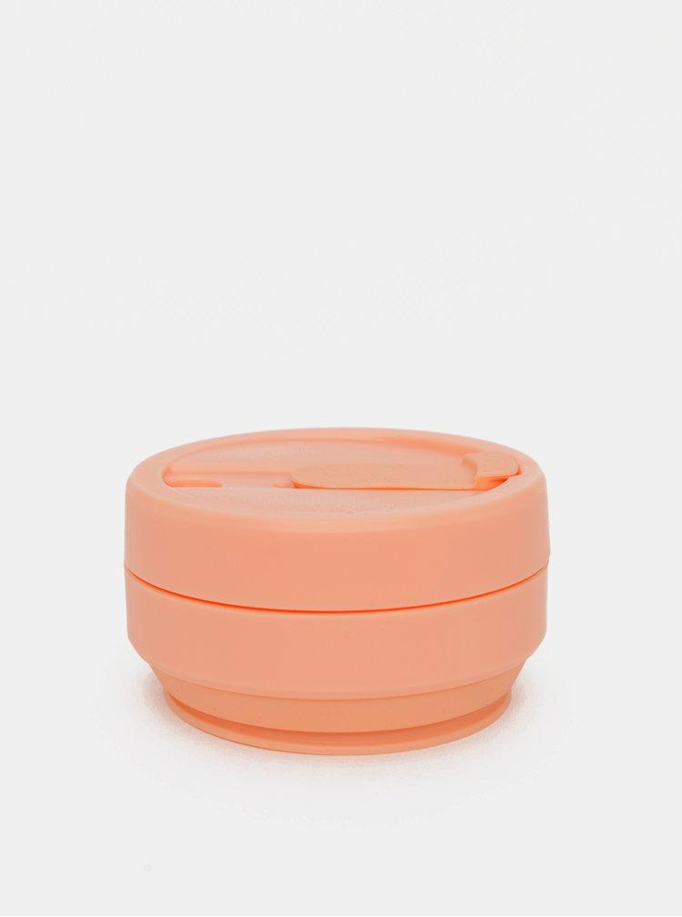 Meruňkový cestovní skládací hrnek Stojo Pocket 355 ml