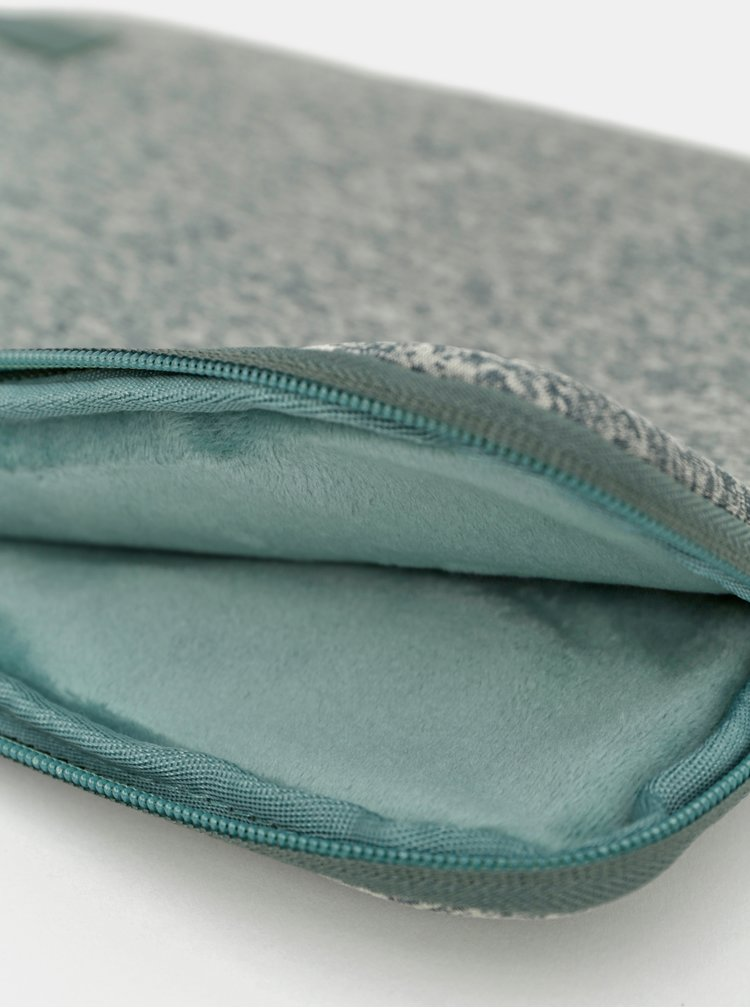 """Zelené žíhané pouzdro na notebook Case Logic Reflect 14"""""""