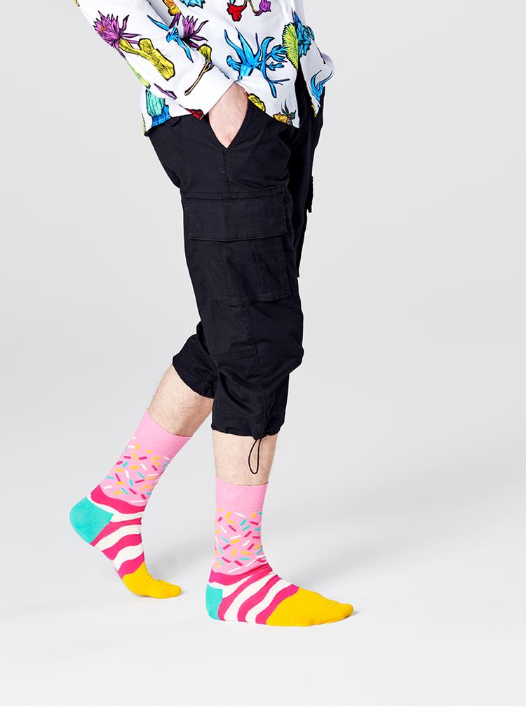 Sosete pentru femei Happy Socks - roz