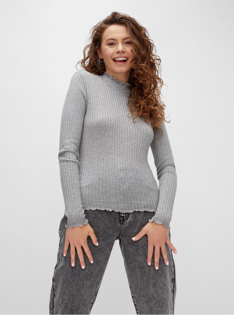 Bluze pentru femei Noisy May - gri