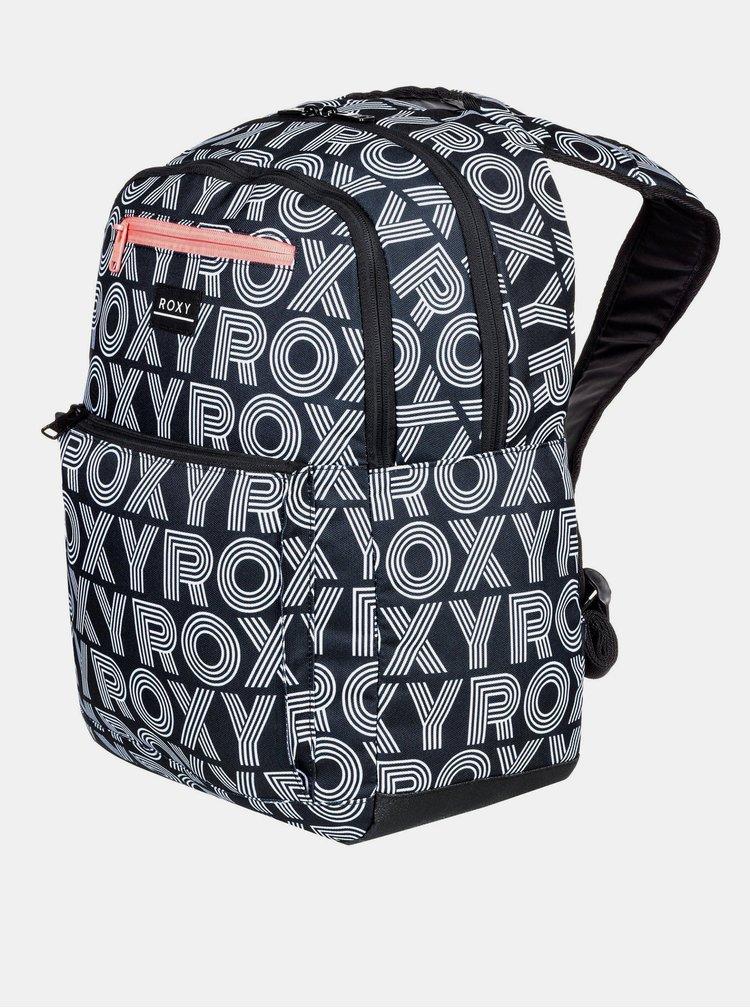 Černý vzorovaný batoh Roxy