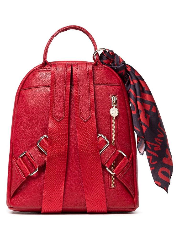 Desigual červený malý batoh Back Alexandra Nazca Mini