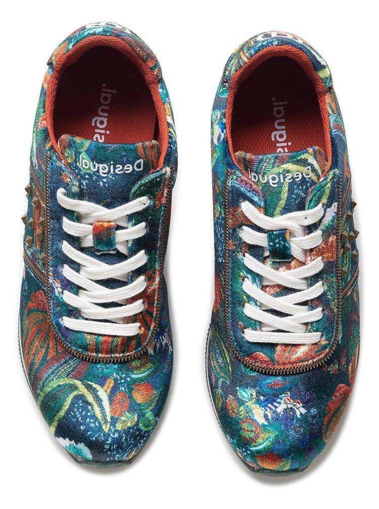 Desigual barevné tenisky Shoes Pegaso Jungle
