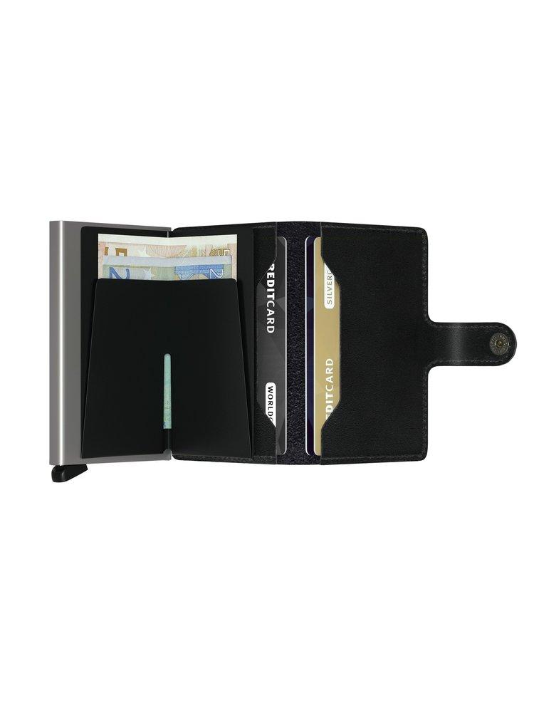 Secrid speciální kožená peněženka Mini Wallet Original Black