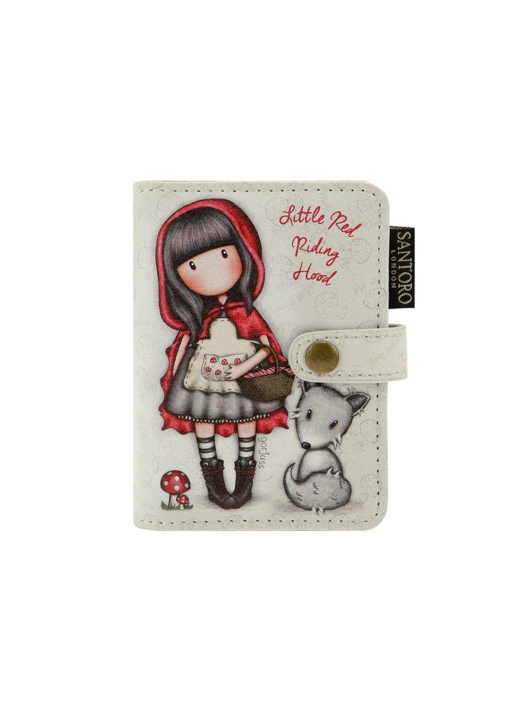 Santoro malý dokladovník Gorjuss Little Red Riding Hood