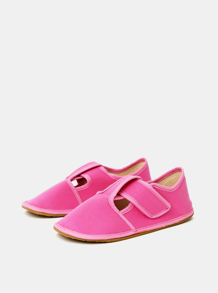 Růžové holčičí bačkory 3F