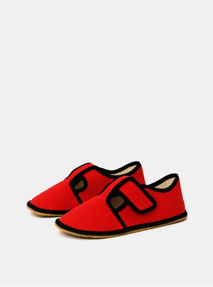 Červené holčičí bačkory 3F