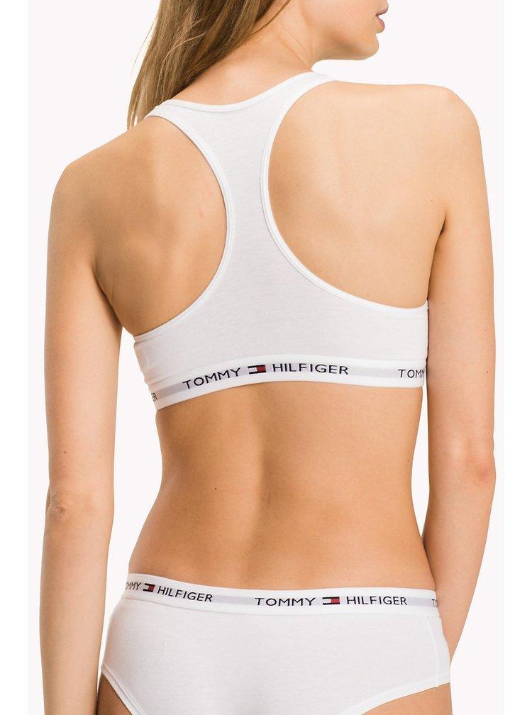 Tommy Hilfiger bílá sportovní podprsenka Bralette Iconic Basic