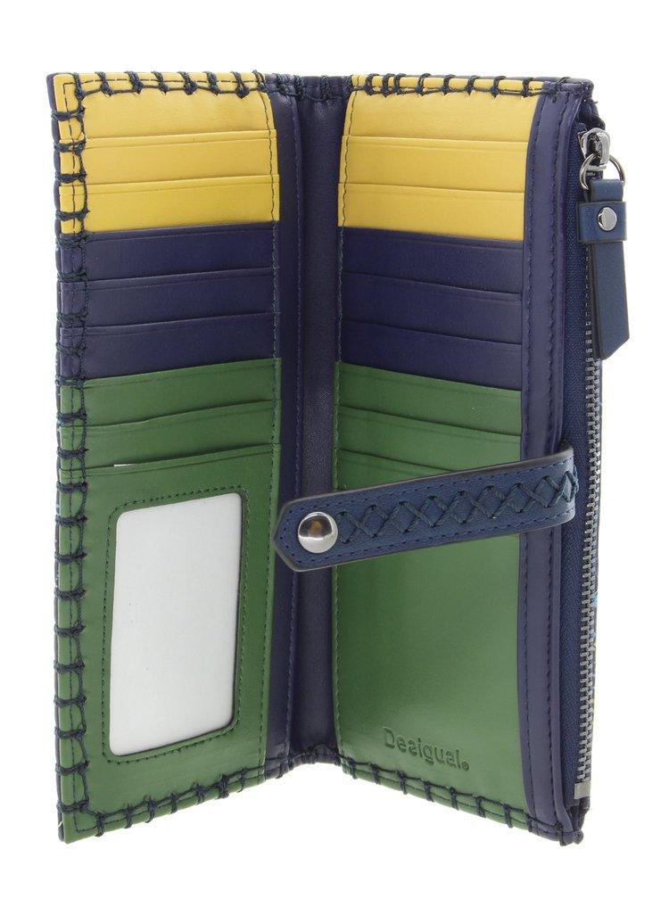 Desigual modrá peněženka Mone Tekila Sunrise Pia
