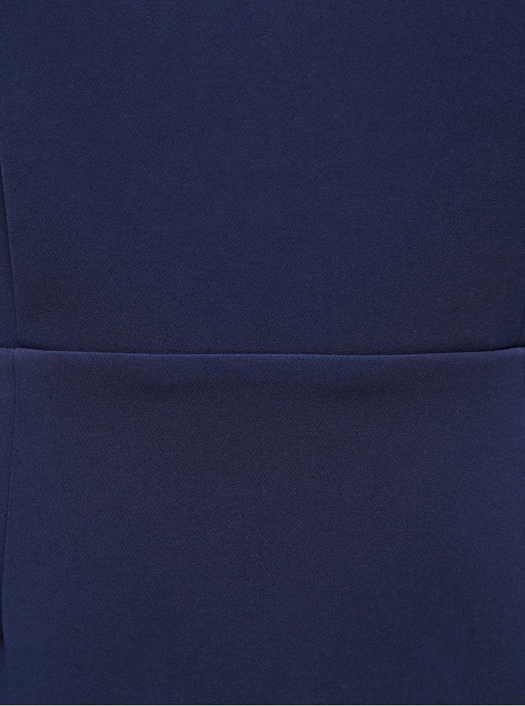 Modré pouzdrové šaty Paper Dolls