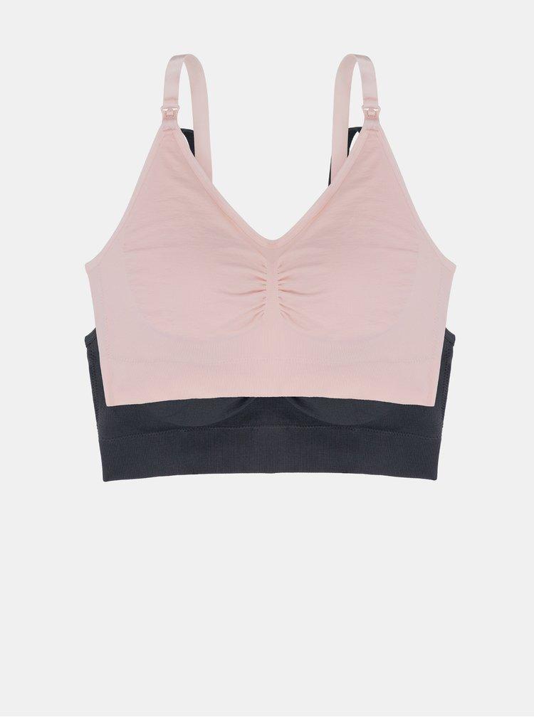 Sutiene pentru femei DORINA - gri, roz