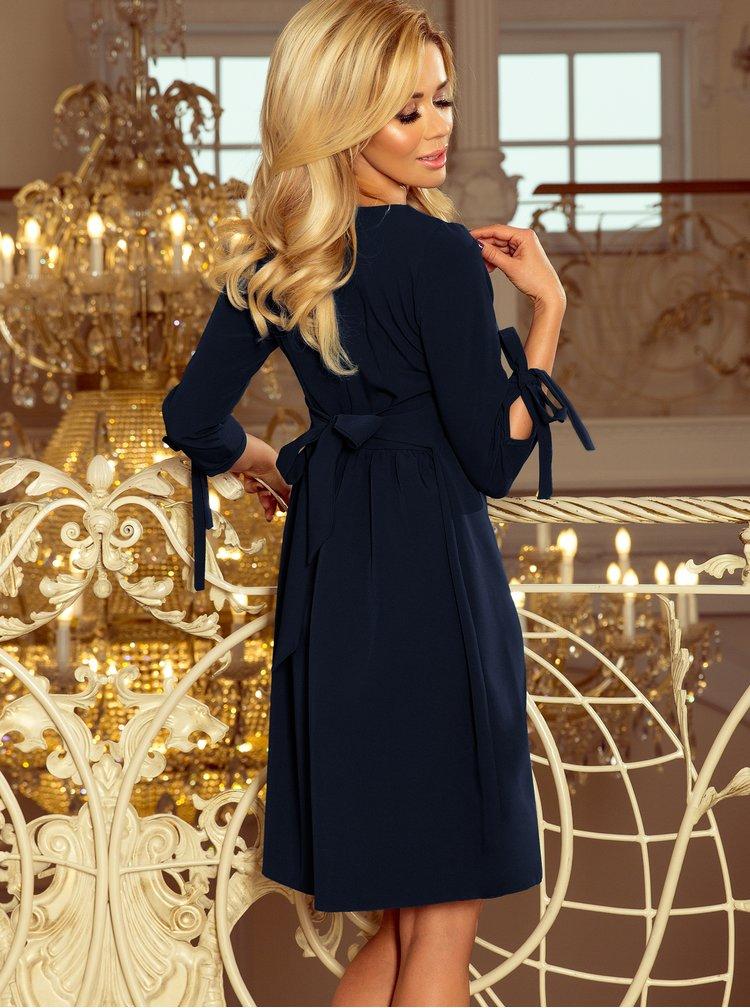 Rochii casual pentru femei numoco - albastru inchis