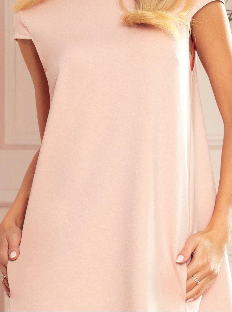 Růžové šaty numoco