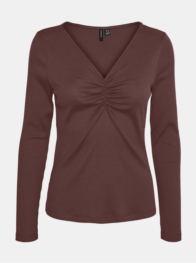 Bluze pentru femei VERO MODA - maro
