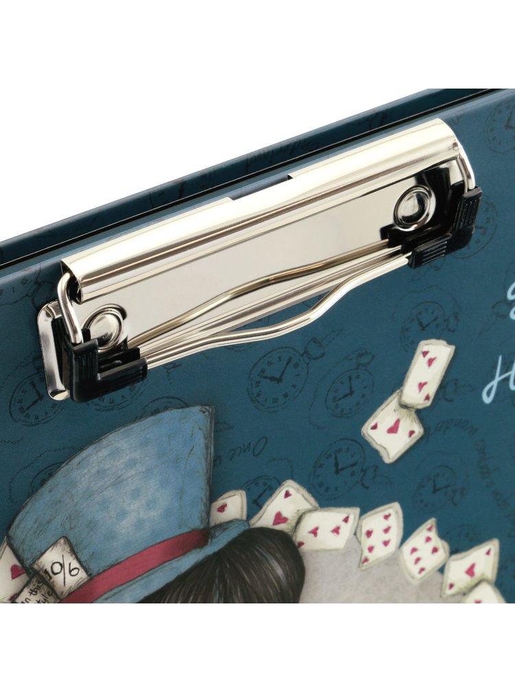 Santoro desky s klipem a psacími potřebami The Hatter
