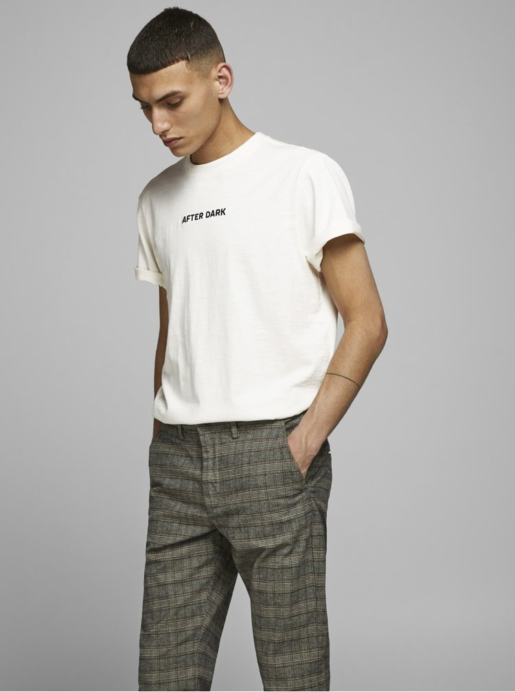 Tricouri pentru barbati Jack & Jones - alb