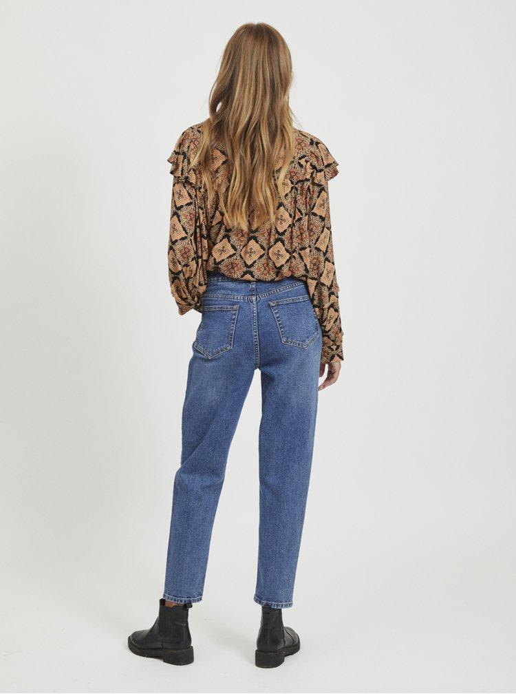Modré mom fit džíny .OBJECT Vinnie