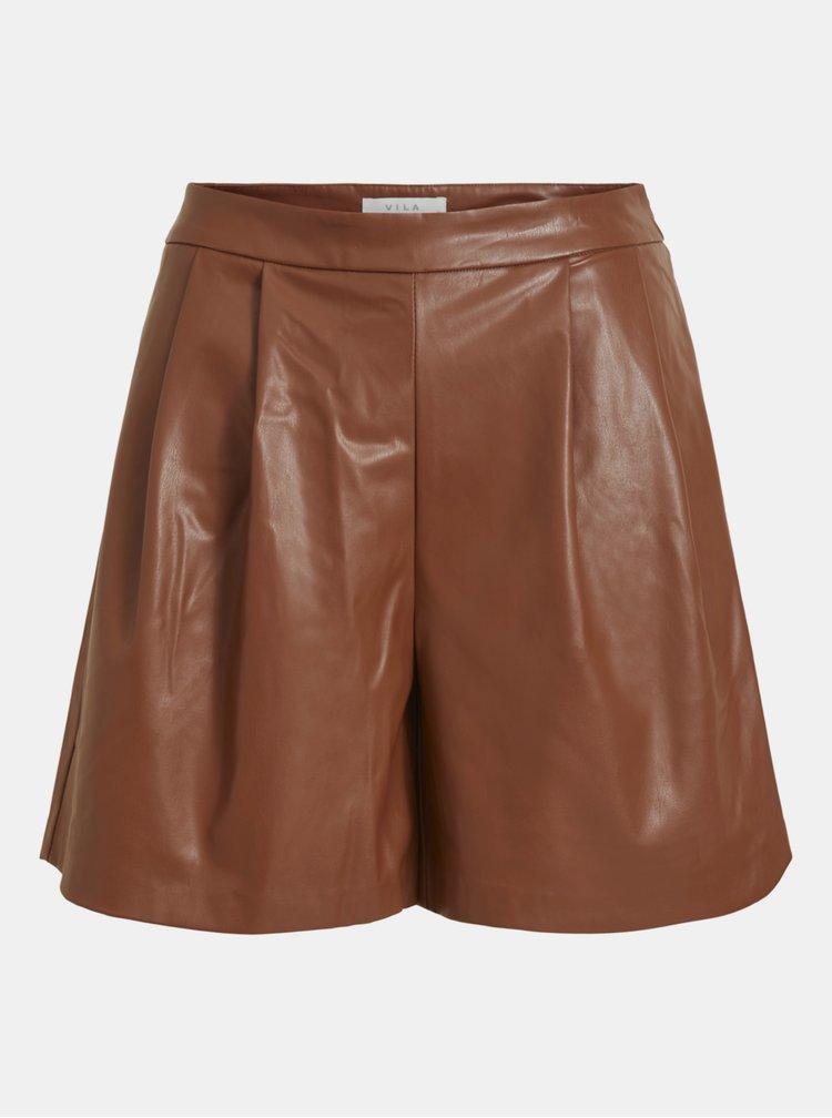 Pantaloni scurti  pentru femei VILA - maro