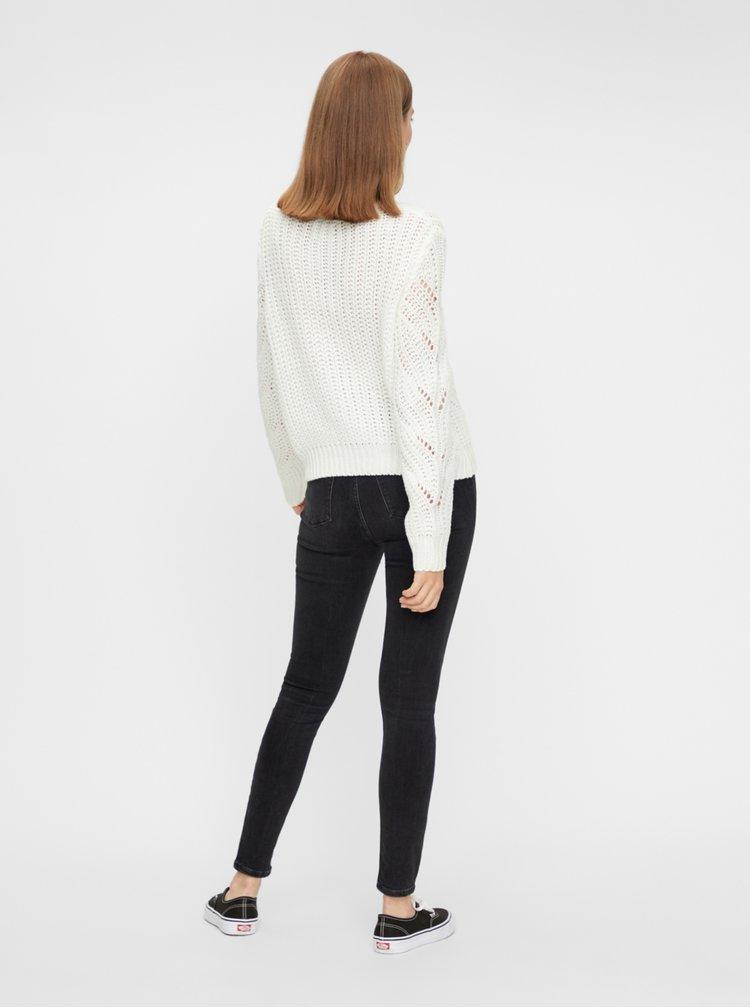 Bílý svetr Pieces Rachel