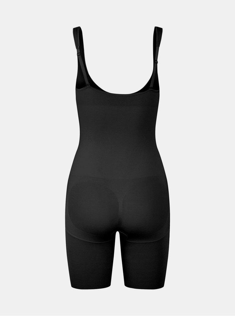 Černé stahovací spodní prádlo Pieces Bella