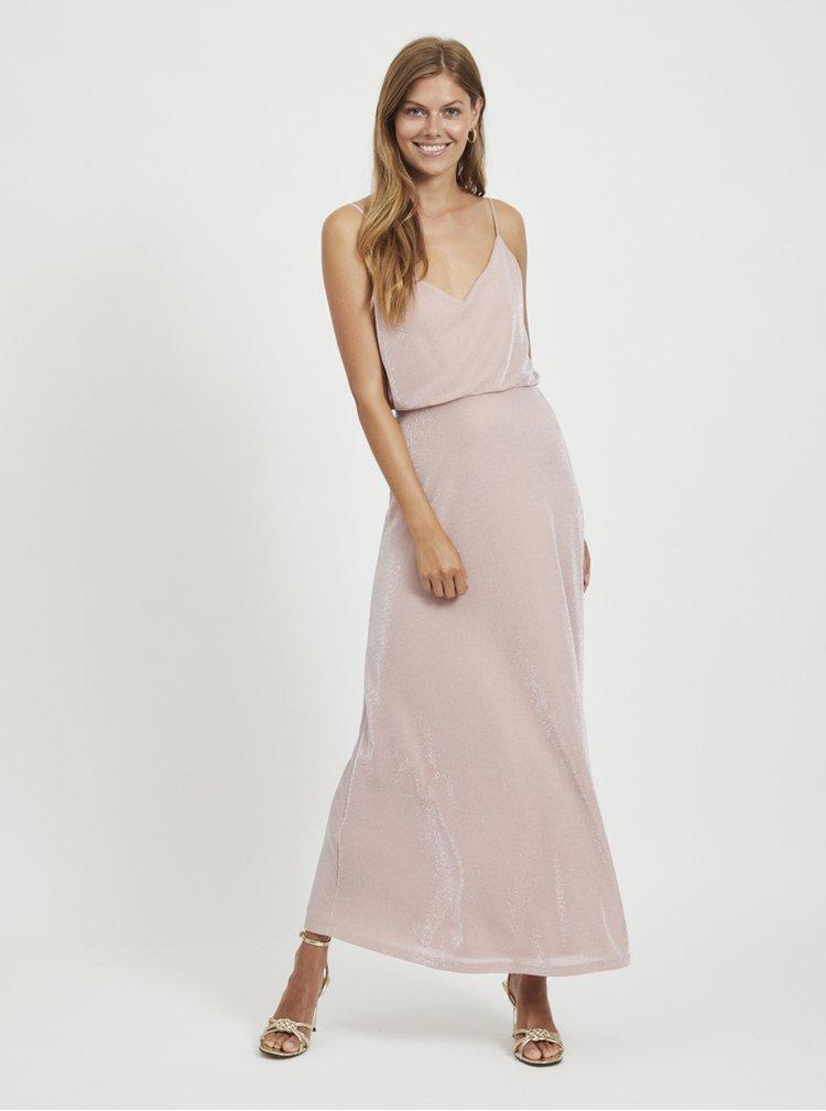 Rochii maxi pentru femei VILA - roz