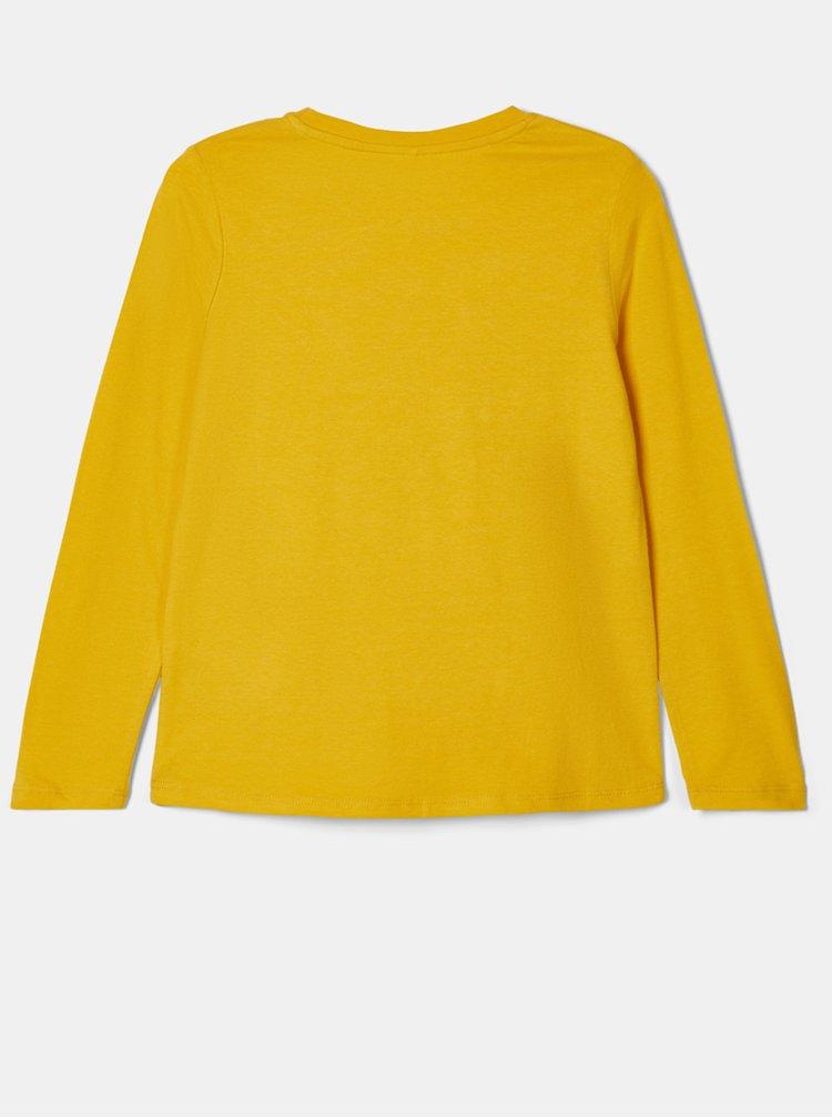 Žluté holčičí tričko name it Natty