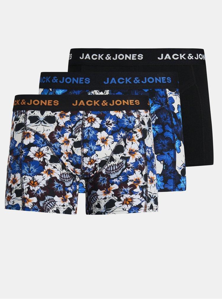 Boxeri mulati pentru barbati Jack & Jones - albastru