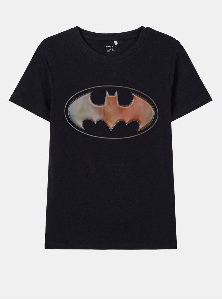 Černé klučičí tričko name it Batman