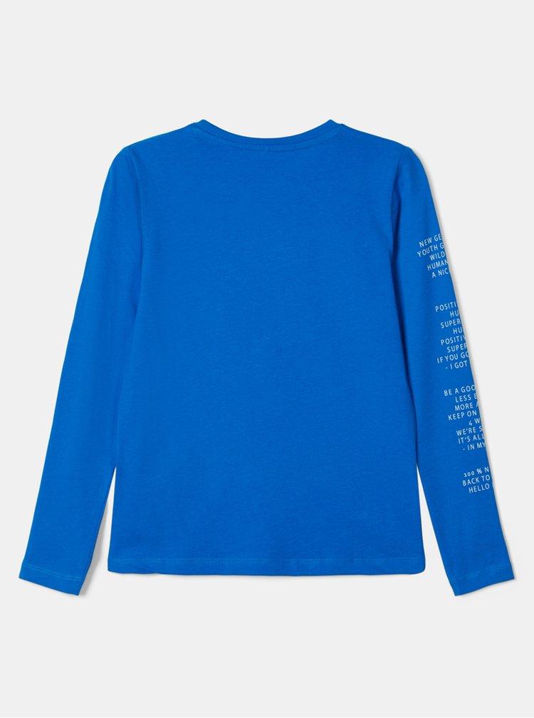Modré klučičí tričko name it Naman