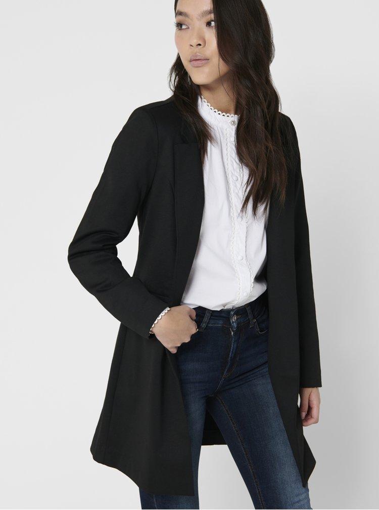 Černý lehký kabát ONLY Penny