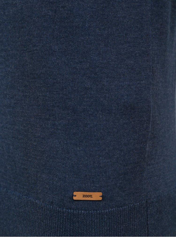 Tmavomodrý pánsky sveter ZOOT Baseline Leo