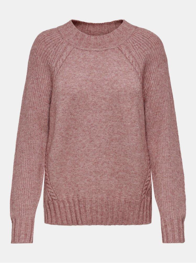 Starorůžový svetr ONLY Sandy