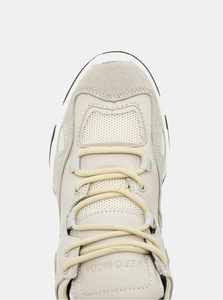Pantofi sport si tenisi pentru femei VERO MODA - bej